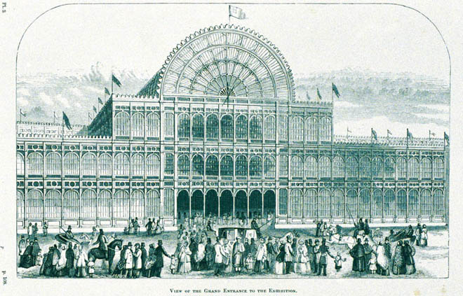 Exhibition of the works of industry of all nations 1851
